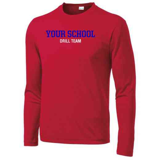 Drill Team Long Sleeve Competitor T-shirt