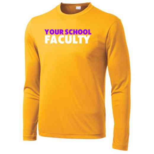 Faculty Long Sleeve Competitor T-shirt