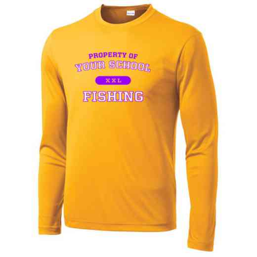 Fishing Long Sleeve Competitor T-shirt