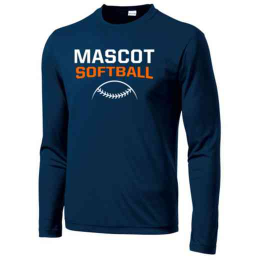 Softball Long Sleeve Competitor T-shirt
