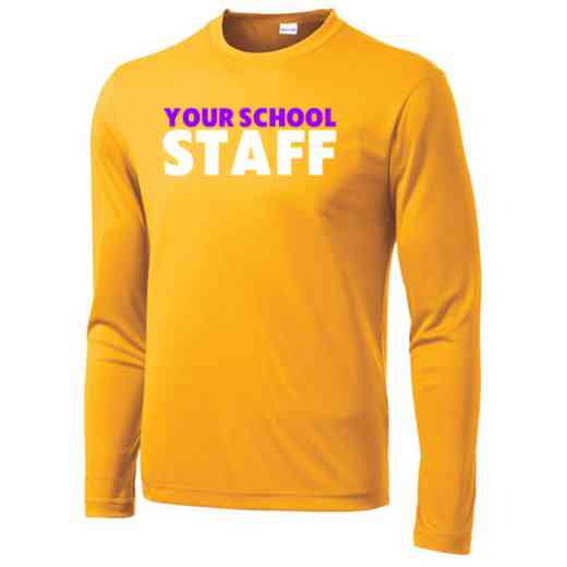 Staff Long Sleeve Competitor T-shirt
