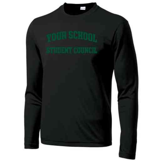 Student Council Long Sleeve Competitor T-shirt