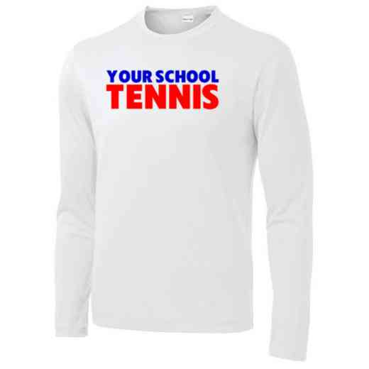 Tennis Long Sleeve Competitor T-shirt