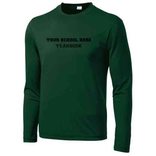 Yearbook Long Sleeve Competitor T-shirt
