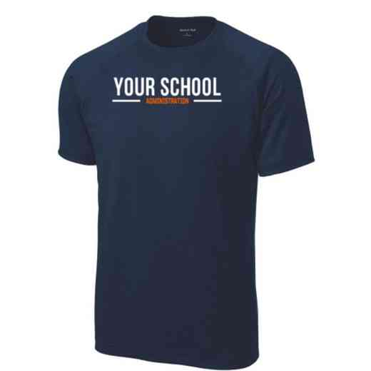 Men's Administration Performance Athletic T-Shirt