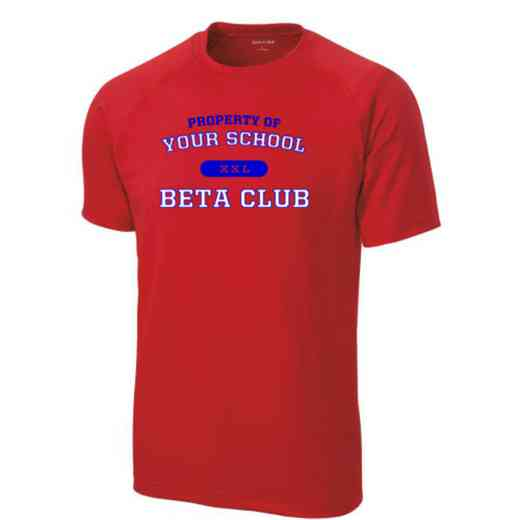 Men's Beta Club Performance Athletic T-Shirt