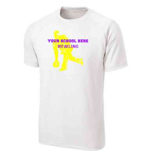 Men's Bowling Performance Athletic T-Shirt