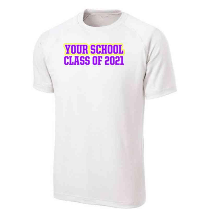 Men's Class Pride Performance Athletic T-Shirt