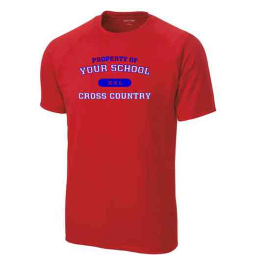 Men's Cross Country Performance Athletic T-Shirt