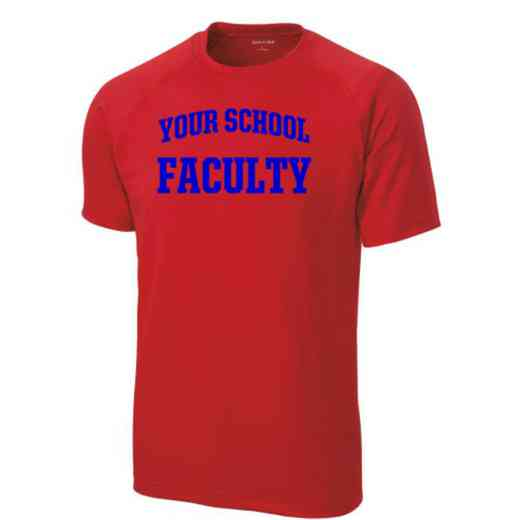 Men's Faculty Performance Athletic T-Shirt