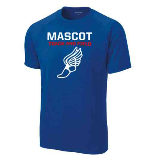 Men's Track & Field Performance Athletic T-Shirt