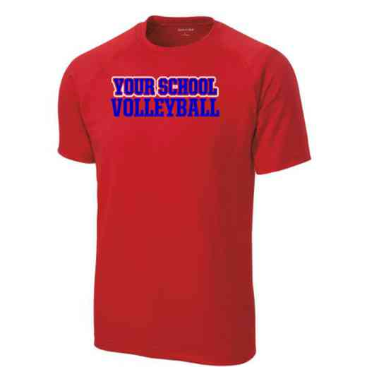 Men's Volleyball Performance Athletic T-Shirt