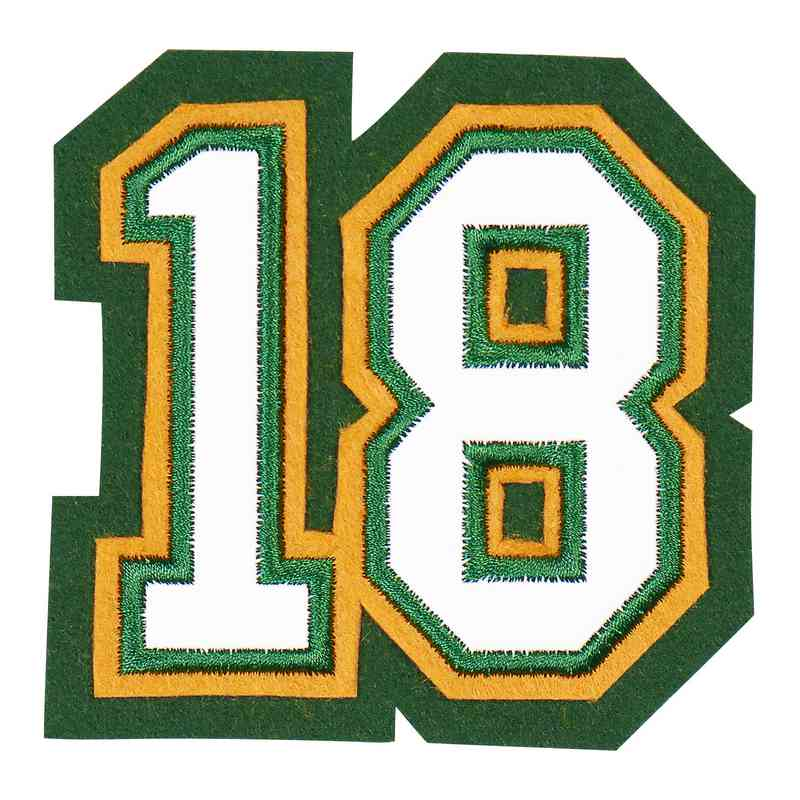 LJ7004BB2: 2 Digit Jersey Number - Sport Touch - Baseball
