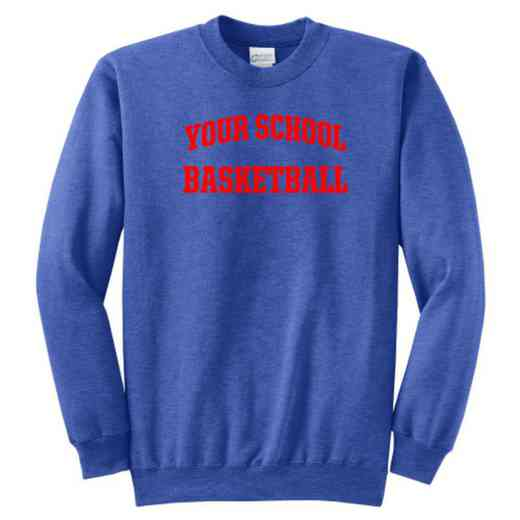 Basketball Classic Crewneck Sweatshirt