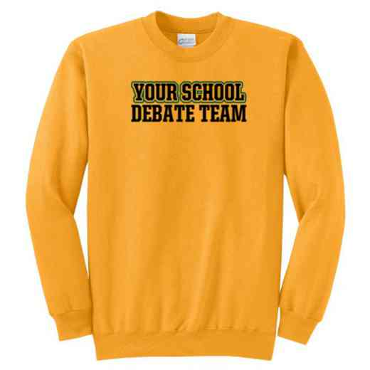 Debate Team Classic Crewneck Sweatshirt