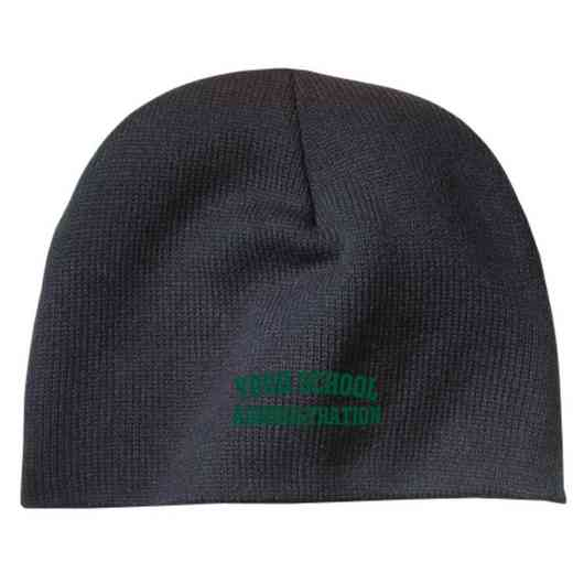 Administration Embroidered Knit Beanie Cap