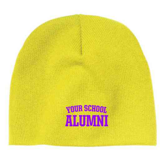 Alumni Embroidered Knit Beanie Cap