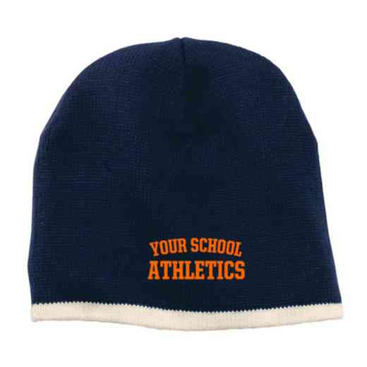 Athletics Embroidered Knit Beanie Cap