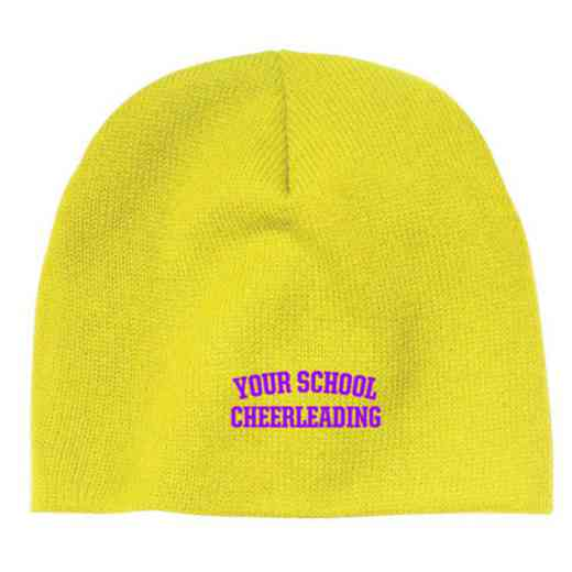 Cheerleading Embroidered Knit Beanie Cap