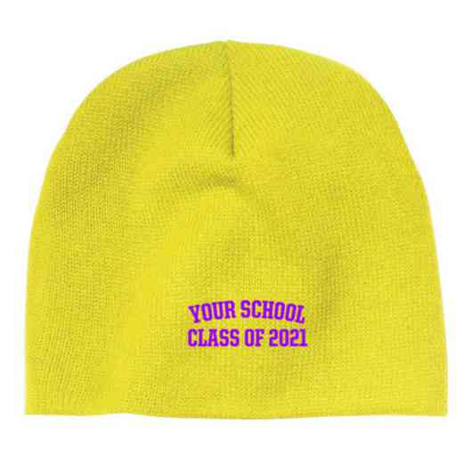 Class of  Embroidered Knit Beanie Cap