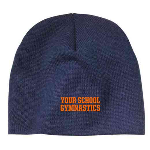 Gymnastics Embroidered Knit Beanie Cap