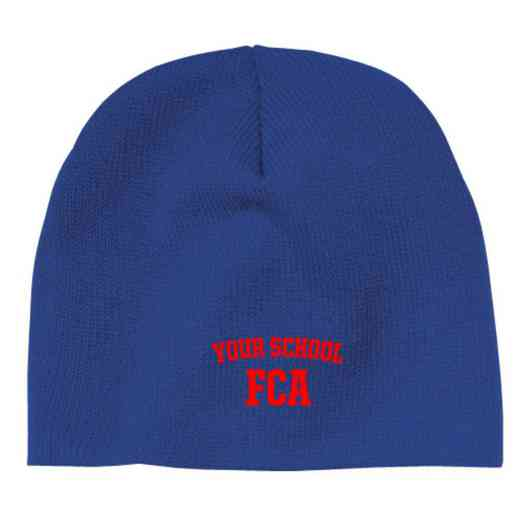 FCA Embroidered Knit Beanie Cap