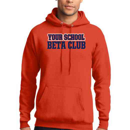 Beta Club Lightweight Hooded Sweatshirt