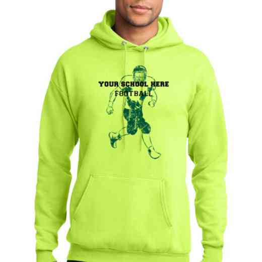 Football Lightweight Hooded Sweatshirt