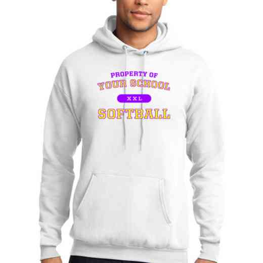 Softball Lightweight Hooded Sweatshirt