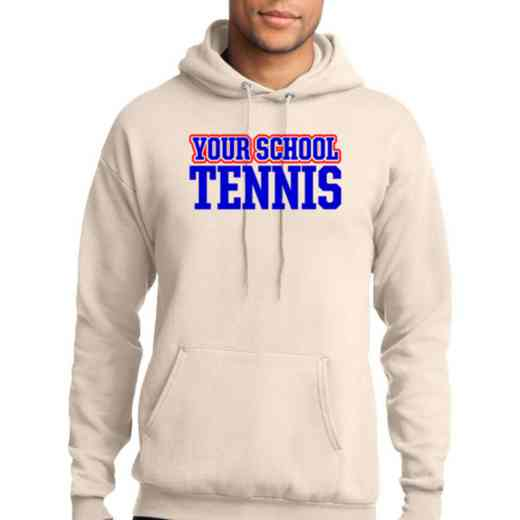 Tennis Lightweight Hooded Sweatshirt