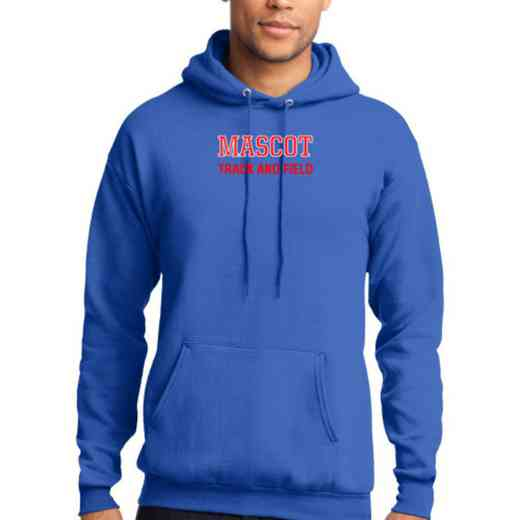 Track and Field Lightweight Hooded Sweatshirt