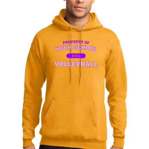 Volleyball  Lightweight Hooded Sweatshirt