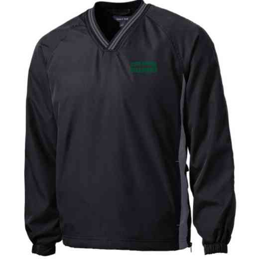 Youth Field Hockey Embroidered V-Neck Contrast Windbreaker
