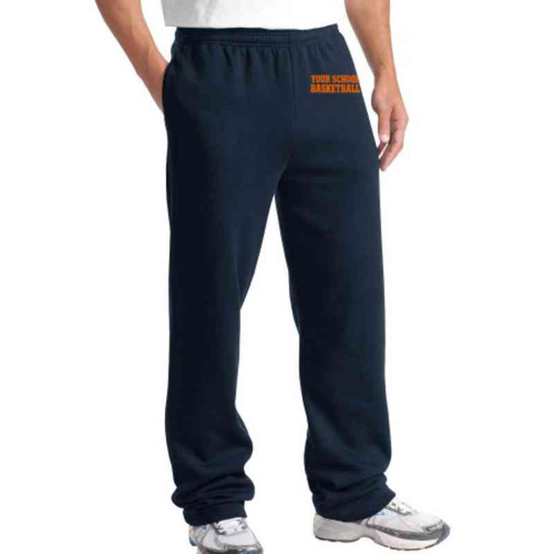 Basketball Sport-Tek Embroidered Heavy Weight Sweatpants