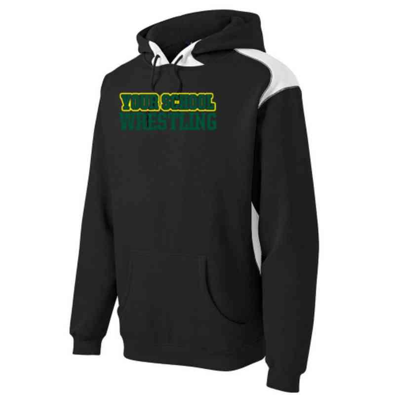 Wrestling Sport-Tek Contrast Hooded Sweatshirt