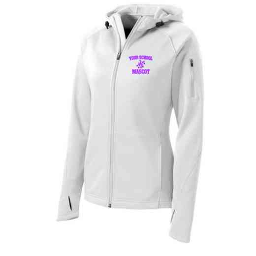 Band Sport-Tek Embroidered Womens Tech Fleece Hooded Jacket