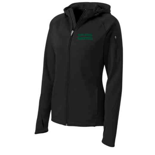 Basketball Sport-Tek Embroidered Womens Tech Fleece Hooded Jacket