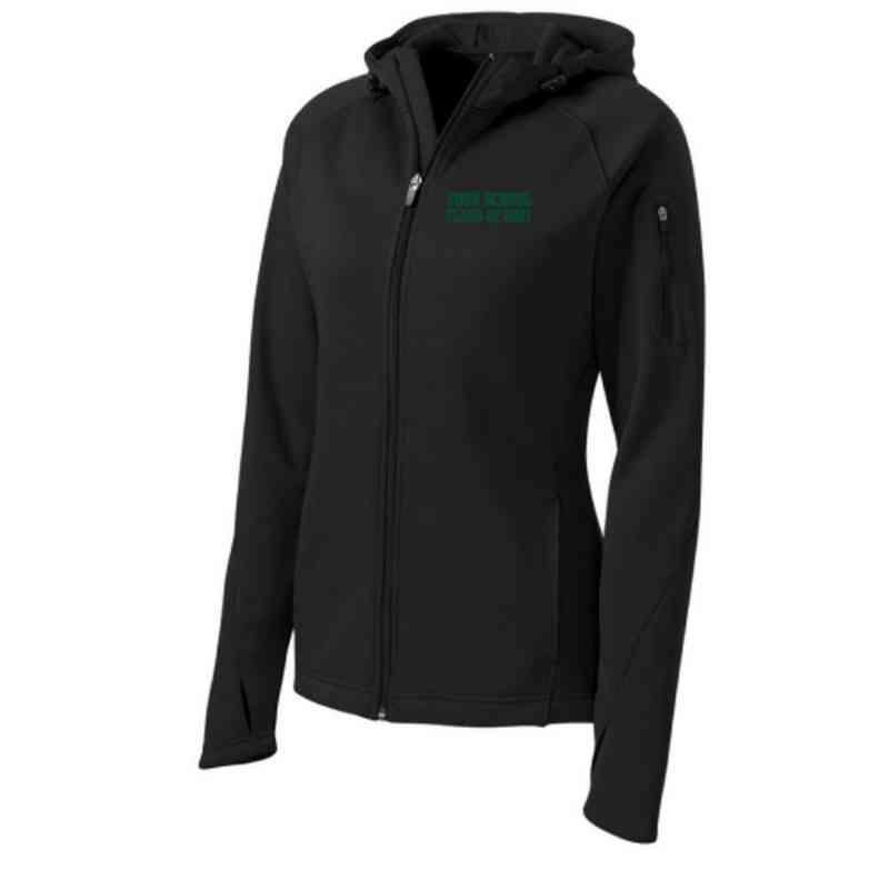 Class of  Sport-Tek Embroidered Womens Tech Fleece Hooded Jacket