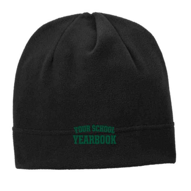 C900-YB-OSFA: Yearbook Embroidered Stretch Fleece Beanie