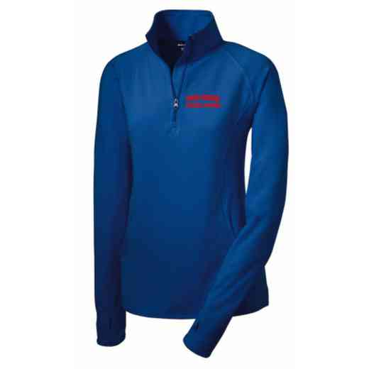 Athletic Trainer Sport-Tek Embroidered Womens Half Zip Stretch Pullover