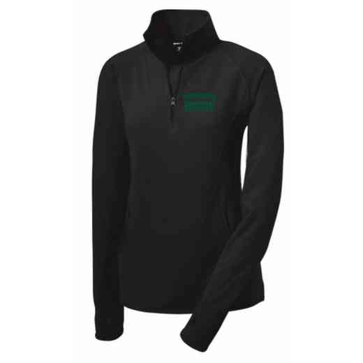Rugby Sport-Tek Embroidered Womens Half Zip Stretch Pullover