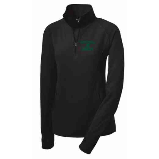 Swimming and Diving Sport-Tek Embroidered Womens Half Zip Stretch Pullover