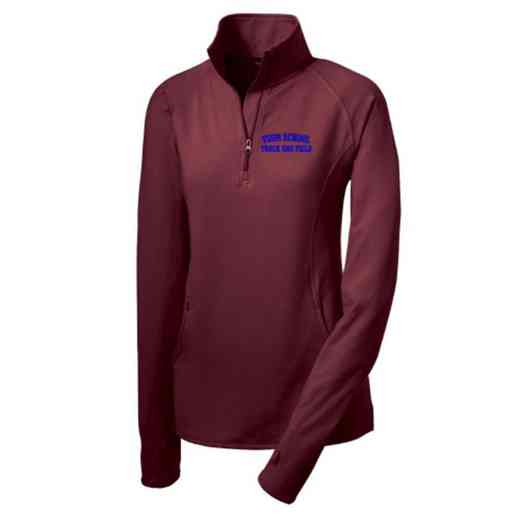 Track and Field Sport-Tek Embroidered Womens Half Zip Stretch Pullover