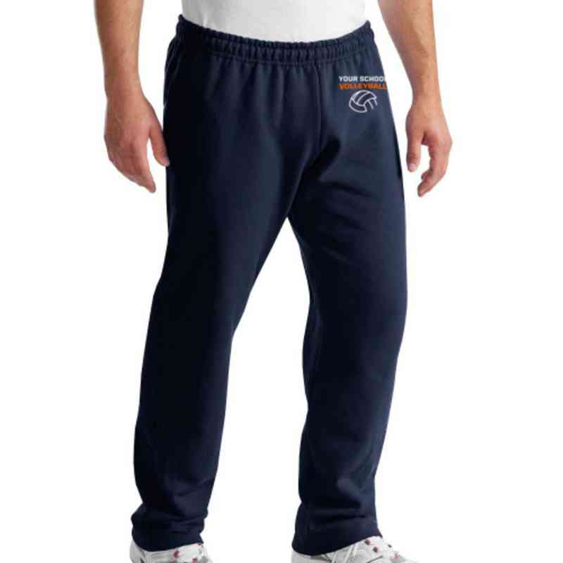 Volleyball  Embroidered Classic Adult Sweatpant