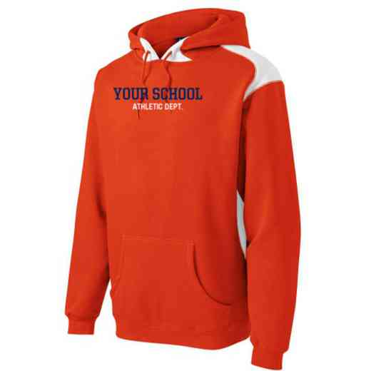 Athletic Department Youth Heavyweight Contrast Hooded Sweatshirt