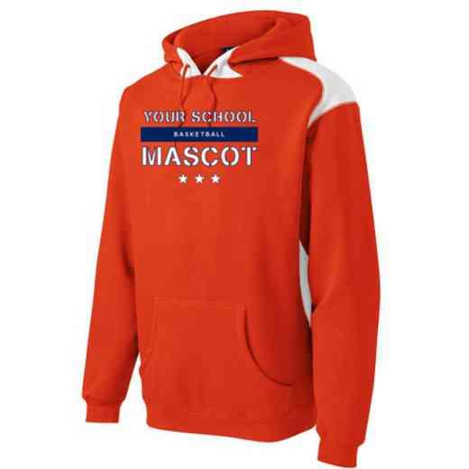 Basketball Youth Heavyweight Contrast Hooded Sweatshirt