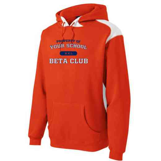 Beta Club Youth Heavyweight Contrast Hooded Sweatshirt