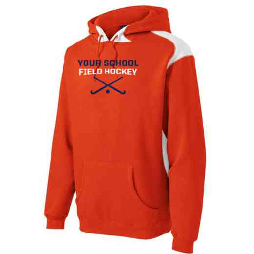 Field Hockey Youth Heavyweight Contrast Hooded Sweatshirt