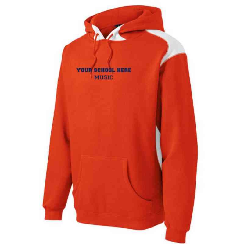 Music Youth Heavyweight Contrast Hooded Sweatshirt