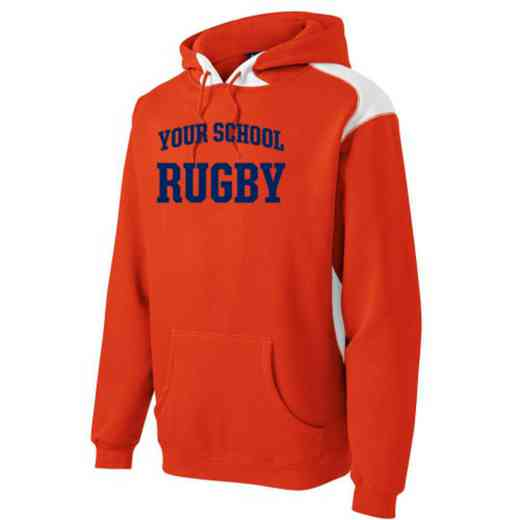Rugby Youth Heavyweight Contrast Hooded Sweatshirt